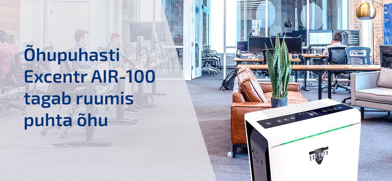 Excentr AIR-100 õhupuhasti