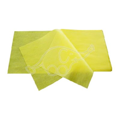 NOVOLIN yellow impregn.dustcloth 30x60cm(25pcs a package)