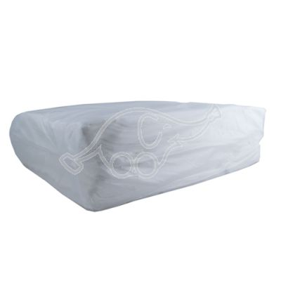 Nonwoven 1x cleaning wipes 5kg pack white40x60cm