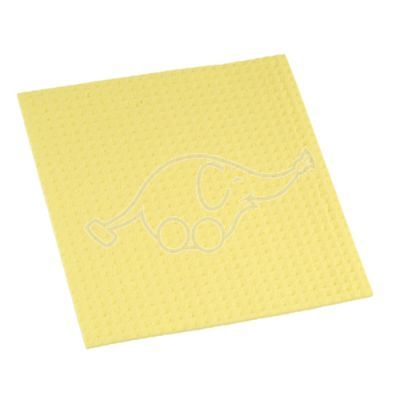 Sponge cloth - yellow 20x18cm