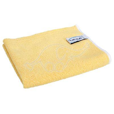 Vikan Original Microfibre cloth 32x32cm yellow