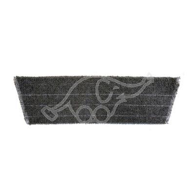 Micro mop light weave grey 40cm