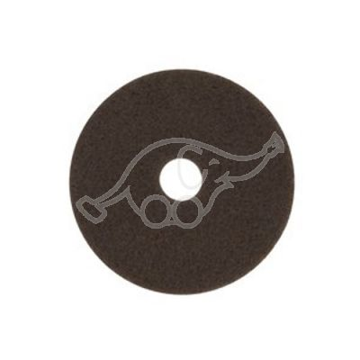 "3M Scotch-Brite Stripping brown 10""254mm"