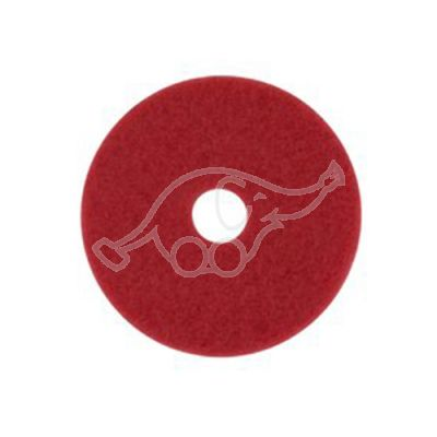 "3M Scotch-Brite Buffering red 11"" 280mm"