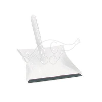 Prügikühvel metallist PVC servaga