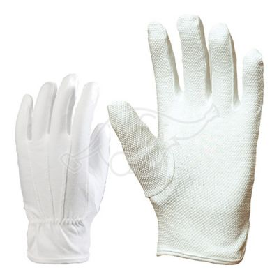 Microfibre glove XL white