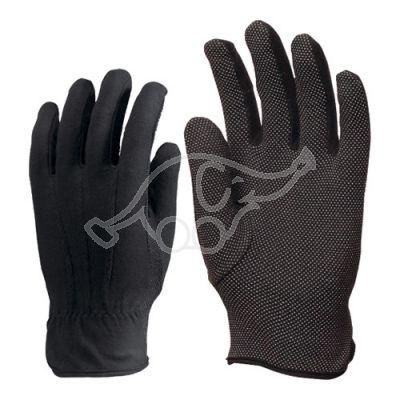 Microfibre glove M black