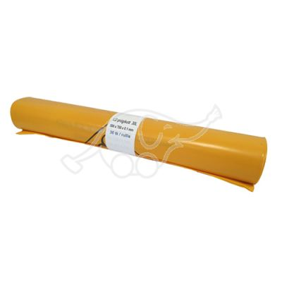 Garbage bag 30L yellow LD 30pcs/roll
