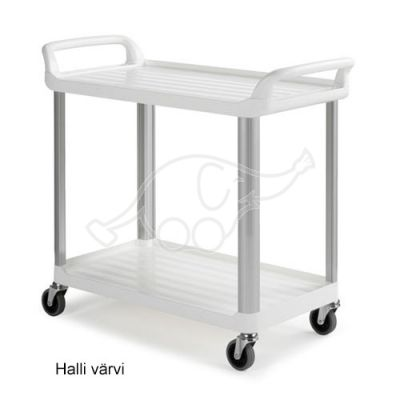 Shelf GREY 2 tier cart