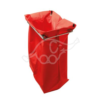 Laundry bag 44x52cm, red small