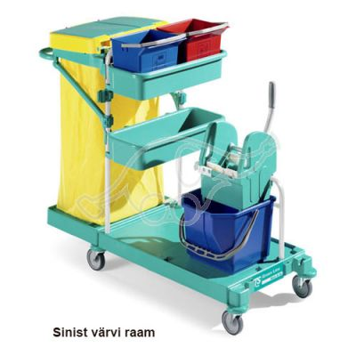 Service trolley Green 20 blue