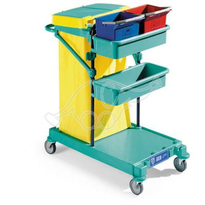Service Trolley Green 0 53x85x107 blue