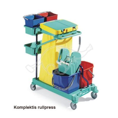Service trolley Green 160 53x115x110blue