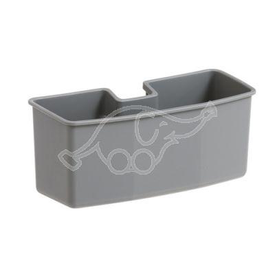 Korv plastik Nickita kärule, hall