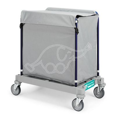 Linen Trolley Green Hotel 919 with cover
