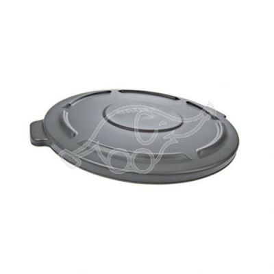Lid Rubbermaid  Round Brute 76L grey