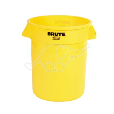 Container Rubbermaid 76L  yellow Brute