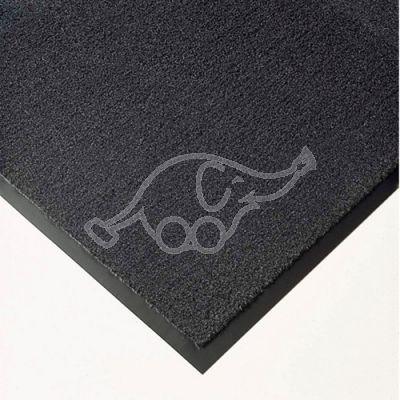 Entrance carpet Solett 1,2m grey