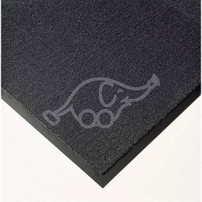 Entrance carpet Solett 90cm grey