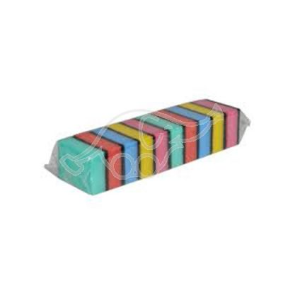 Household sponge mixed colors 10pc/pack