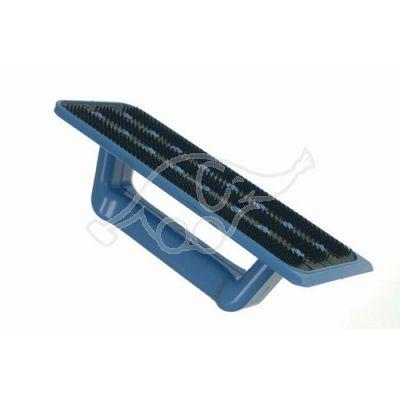 Hõõrumisplaadi alus käepidemega  sinine