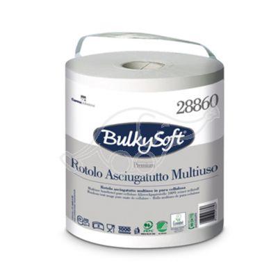 BulkySoft Premium rullirätik kiles sangaga 2-kihiline,100m