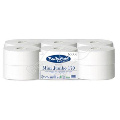 BulkySoft MINI Jumbo 170 Premium tualettpaber 2-kih 170m