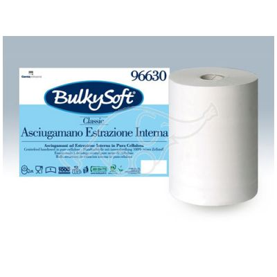 Bulkysoft Classic 1-ply, 120m white roll