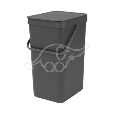 Dust bin 16L Sort & Go grey