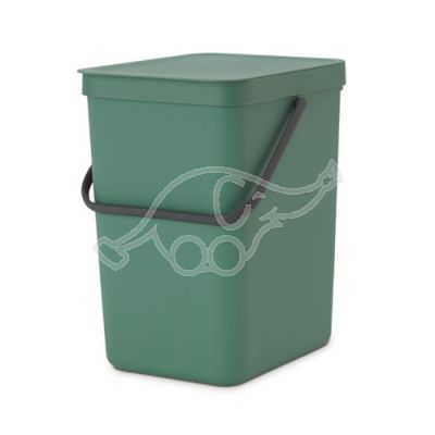 Dust bin 25L Sort & Go fir green