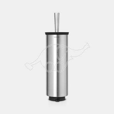 Toilet brush holder matt steel Brabantia