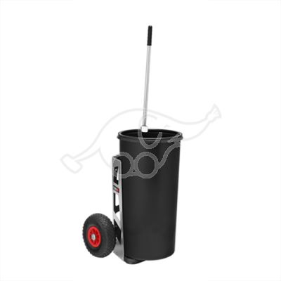 Flora outdoor trolley Easy Uno 60L, pneumatic tyres
