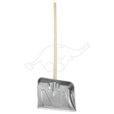 Snow shovel aluminium 520x390mm