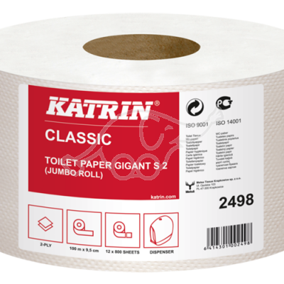 Katrin Classic Gigant S2 2-ply toilet pa       100m