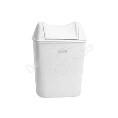 Katrin dustbin 8L white