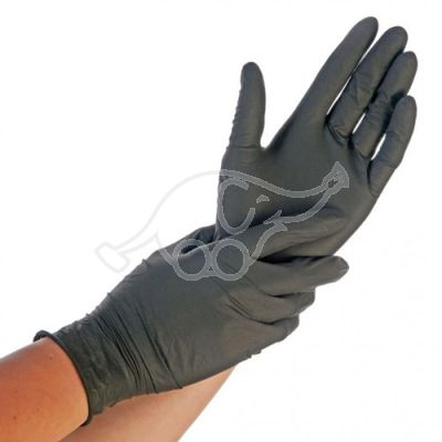 Nitril  glove Safe Fit powderrfree   200pcs L black