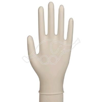 Exam.glove stretch vinyl pf white L