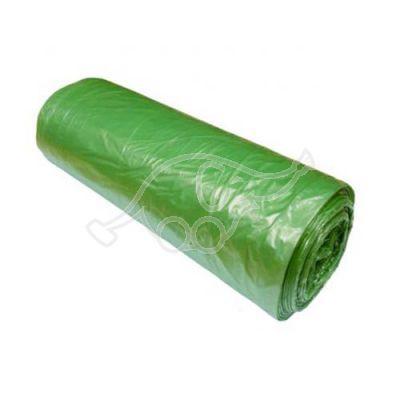 Garbage bag BIO green 60L 13mic 25pcs /rl