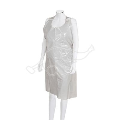 Disposable apron, white 30my