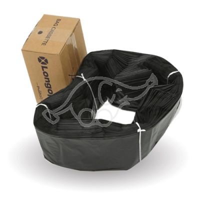 Longopac Bag Casette Midi Black Strong 70m