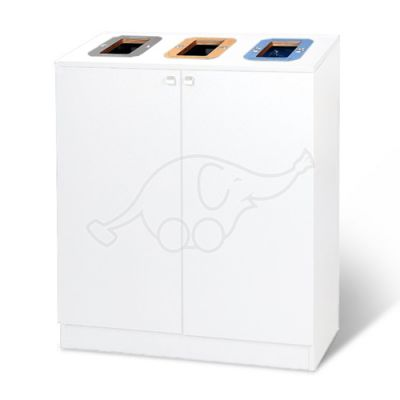 Longopac Bin Multi 3 W820D430 mm, white