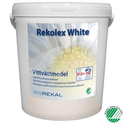 Rekal Rekolex White 8kg pesupulber valgele pesule