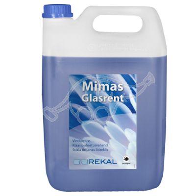 Rekal Mimas Glasrent 5L klaasipuhastusaine  kasutusvalmis