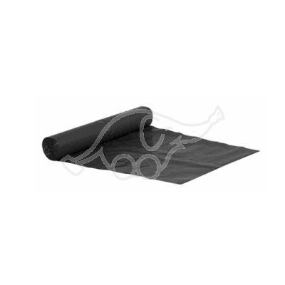Garbage bag 150L black 0,040  750x1150mm 10pcs/rl