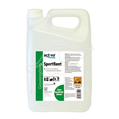 Sportrent 5L ball wax and resin remover
