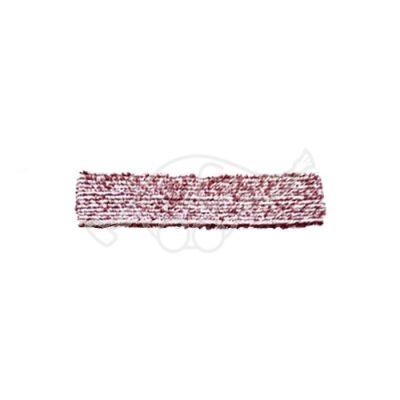 Sappax micro/polyester cloth 33cm  white/burgundy