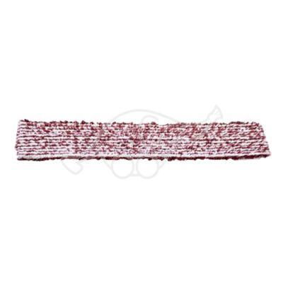 Sappax microfiber/polyester cloth 55cm white/burgundy