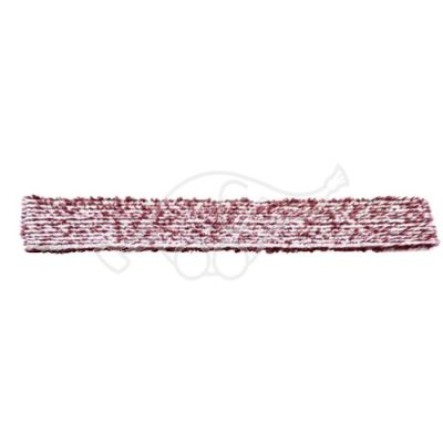 Sappax micro/polyester cloth 85cm white/burgundy