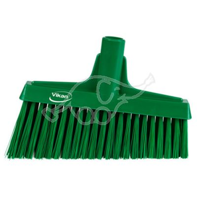 Lobby Broom, Angle Cut, 260mm Medium, Green