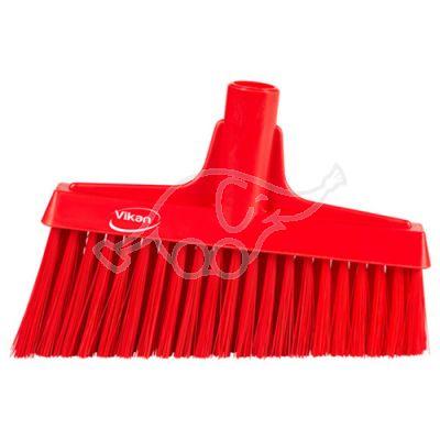 Lobby Broom, Angle Cut, 260mm Medium, Red